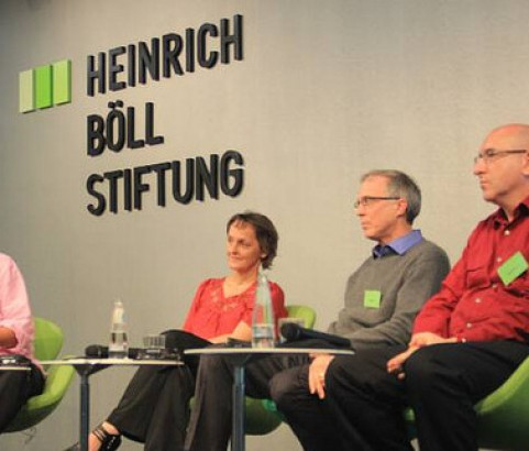 Silke, David, Michel at ECC 2013
